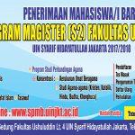 Penerimaan mahasiswa baru Program Magister Fakultas Ishuluddin