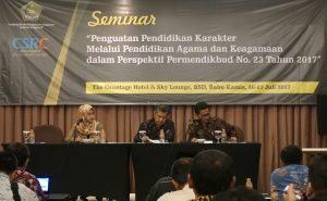 CSRC UIN Jakarta Gelar Seminar Pendidikan Karakter