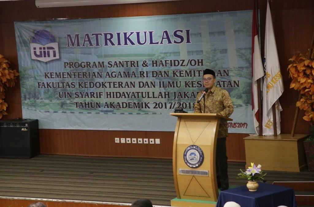 UIN Jakarta-Kemenag Cetak 164 Dokter Santri