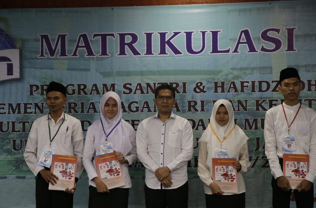 FKIK Hold Matriculation for Santri Students