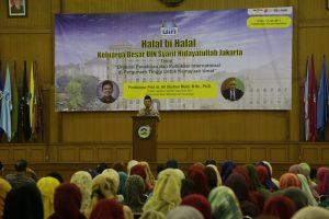 Sivitas UIN Jakarta Gelar Halal Bi Halal 1438 H