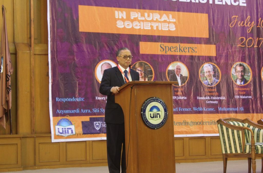 Rector Officiated the Opening of Beyond Coexistence in Plural Societies International Conference