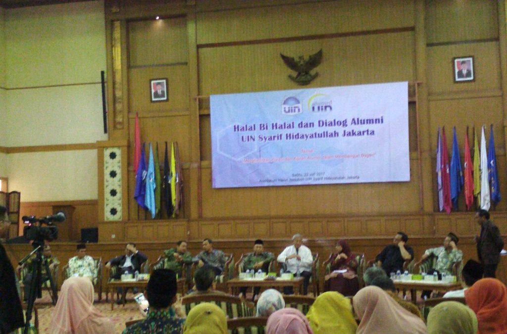 IKALUIN Jakarta Gelar Halal Bi Halal dan Dialog Alumni