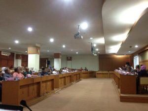 Senat Universitas Gelar Rapat Pleno XII