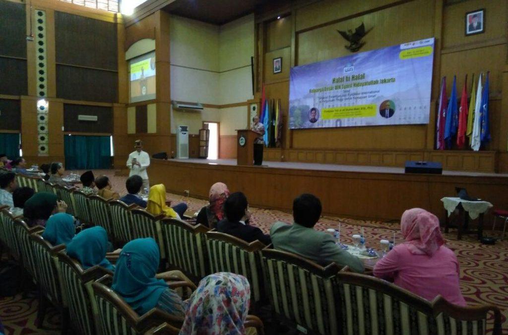 Civitas Academica of UIN Jakarta Holds Halal Bi Halal