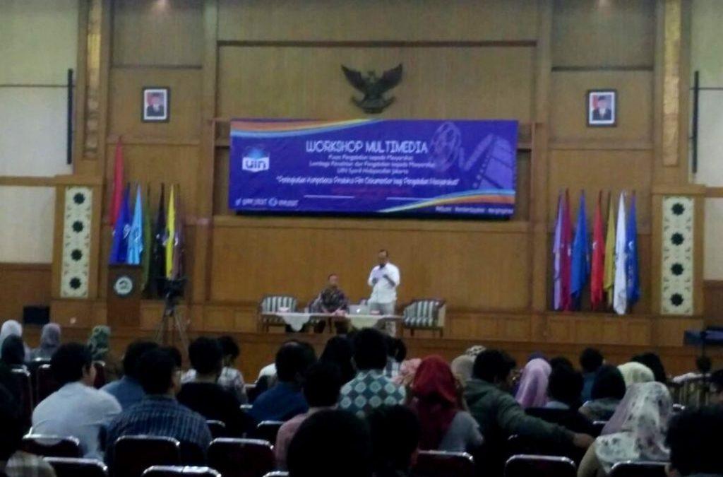 PPM UIN Jakarta Adakan Workshop Multimedia