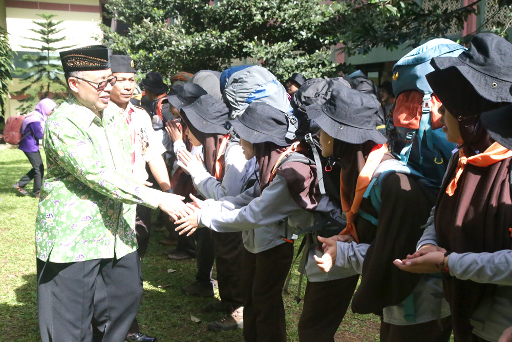 50 Scouts of UIN Jakarta Take Part to Succeed Rainas XI 2017