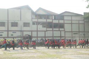 Mahasiswa Baru UIN Jakarta Ikuti Gladi Resik Pembukaan PBAK