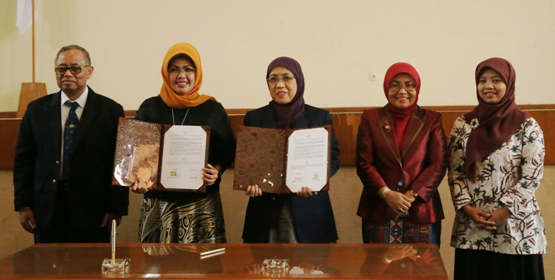PPB UIN Jakarta-The Language Development and Fostering Agency Kemdikbud RI Signed Cooperation Agreement