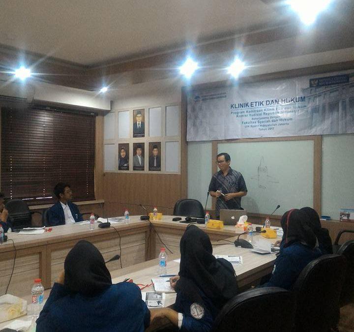 FSH Buka Program Kemitraan Klinik dan Etika Hukum