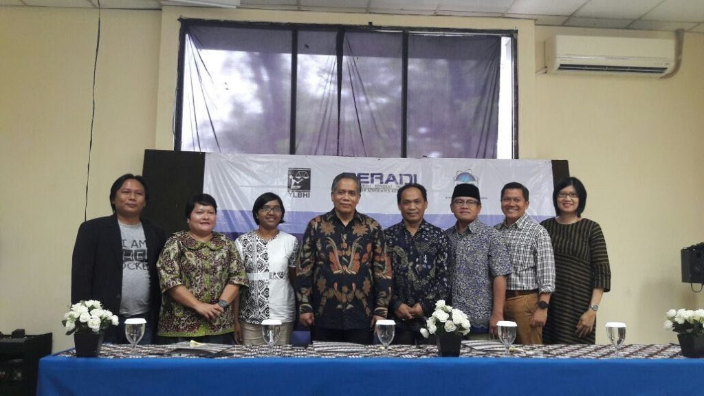 Along with YLBHI-PERADI, FSH UIN Jakarta Organize Anti-Corruption Advocacy Training