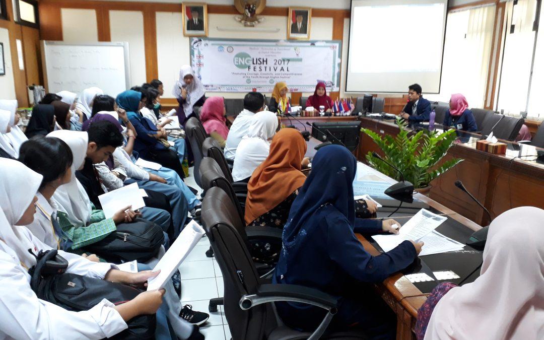 FITK UIN Jakarta Holds English Festival
