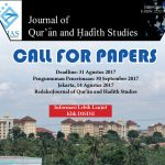 Call for Papers Jurnal of Qur'an and Hadith Studies