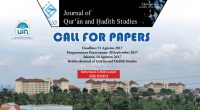 CALL FOR PAPERS QUHAS, Journal of Qur'ān and ḤadÄ«th Studies, […]