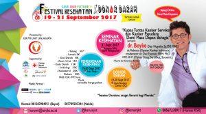 KSR UIN Jakarta Organized Health Festival