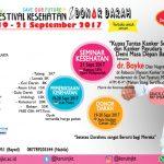 Festival Kesehatan dan Donor Darah KSR UIN Jakarta