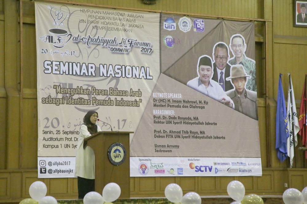 Arabic Language Is Expected to be the Identity of UIN Jakarta