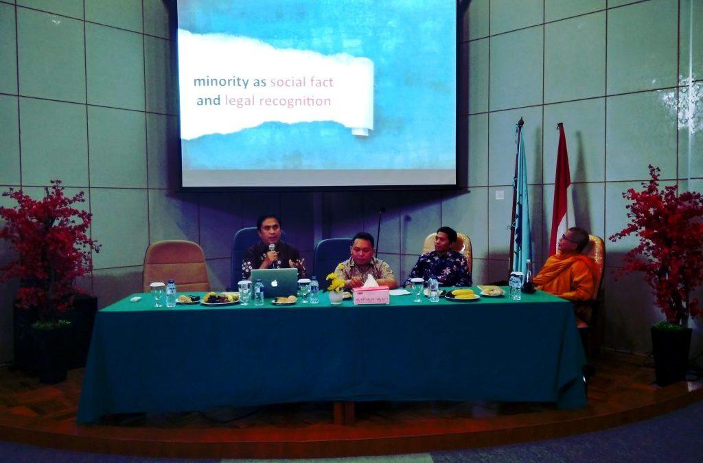 Seminar FU: Hak Pemeluk Agama Minoritas Belum Terpenuhi