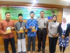 TangkalRadikalisme, LDK Syahid UIN Jakarta Bersinergi dengan Polri