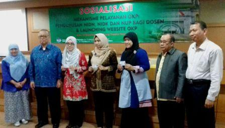 OKP Holds Socialization of NIDN, NIDK and NUP for Lecturers
