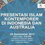 Presentation of Contemporary Islam in Indonesia and Australia