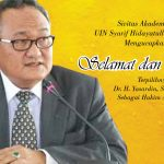 Selamat dan Sukses Dr H Yasardin sebagai Hakim Agung RI