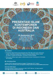Esok, UIN Jakarta-Kedubes Australia Akan Gelar Seminar Islam Kontemporer
