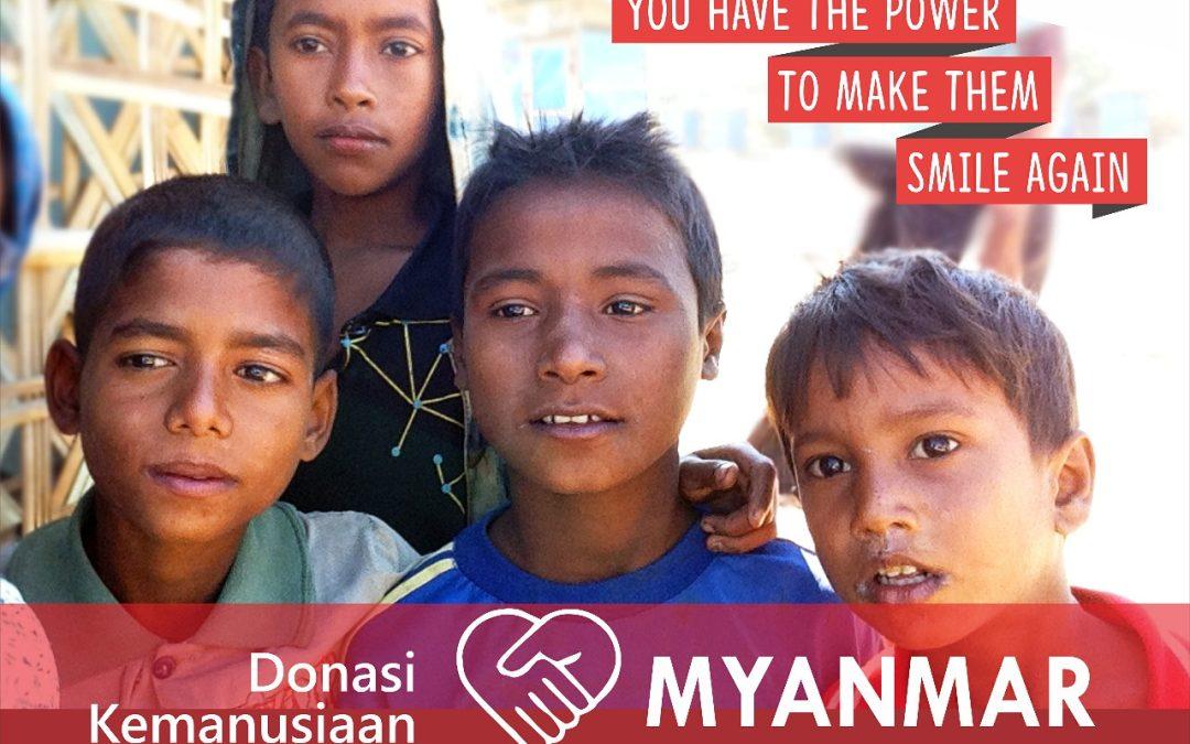 Ranita UIN Jakarta Opens Myanmar Humanitarian Aid Post
