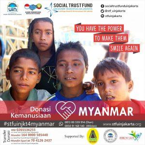 Ranita UIN Jakarta Buka Posko Bantuan Myanmar