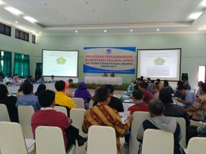 UIN Jakarta Held Employee Competencies Development Training