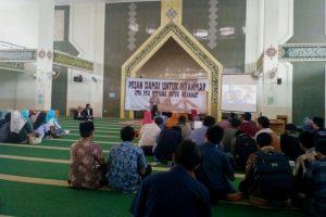 Hari ini, STF UIN Jakarta Gelar Diskusi dan Doa Bersama untuk Myanmar