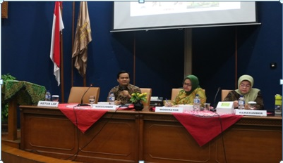 LSF RI Holds Discussion and Socialization at KPI UIN Jakarta