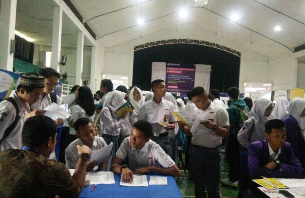Socialization of UIN Jakarta at SMA Madania