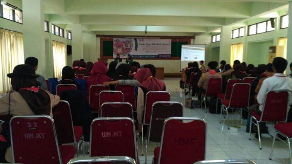Pramuka UIN Jakarta Gelar LKTI Nasional