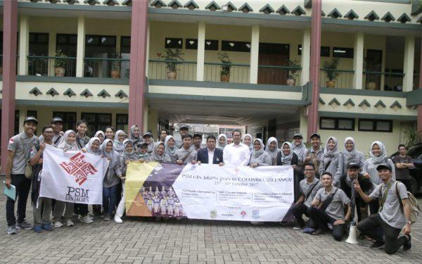 PSM UIN Jakarta Departs to Sri Lanka