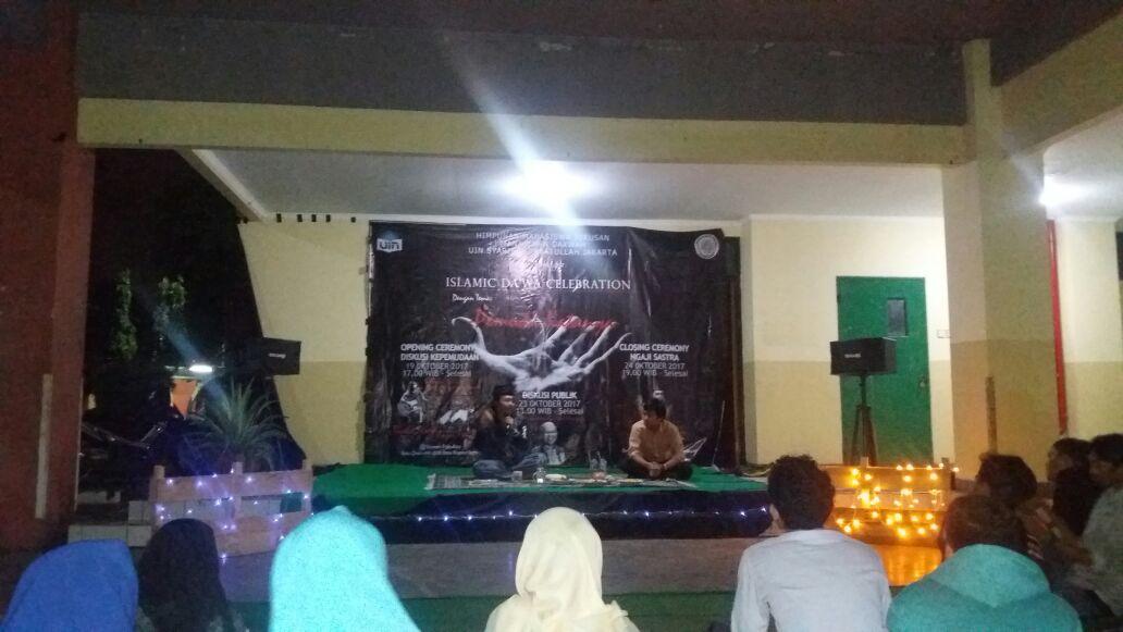 Manajemen Dakwah UIN Jakarta Tutup Rangkaian Milad