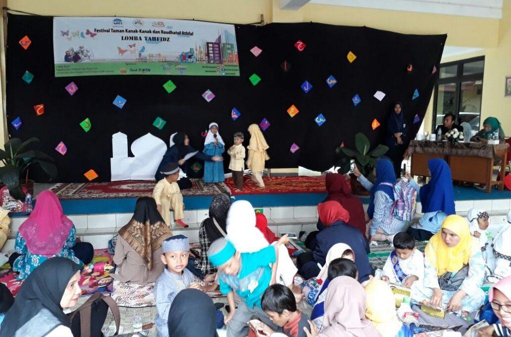 Dozens of Tangsel Kindergarten and RA Follow Festakara PIAUD FITK 2017