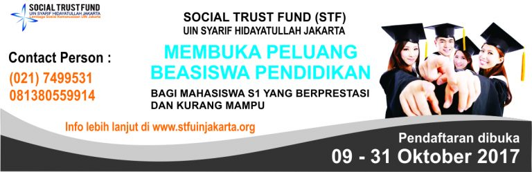 STF UIN Jakarta Offers Scholarship