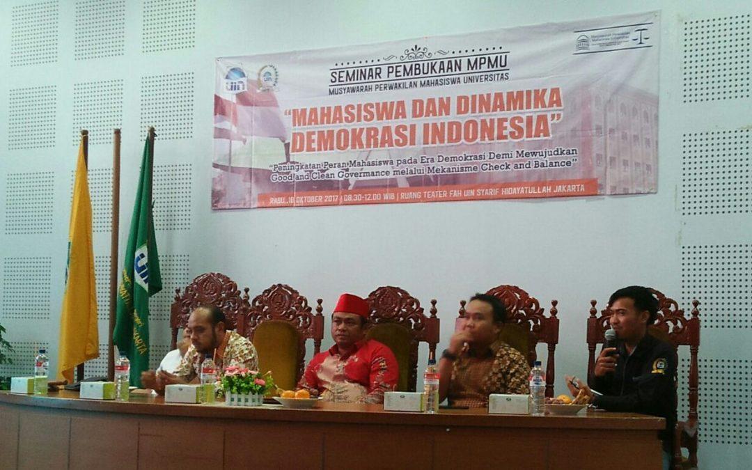 SEMA UIN Jakarta Adakan MPMU