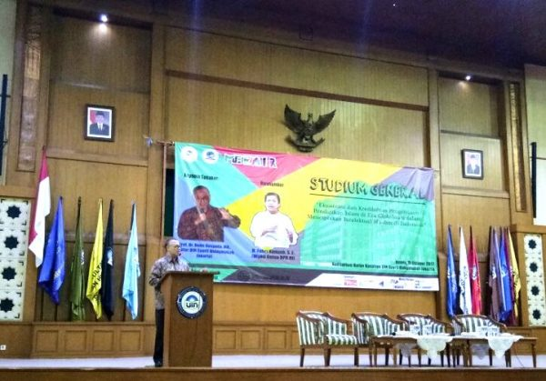 Enliven Milad, MP FITK UIN Jakarta Holds Studium Generale