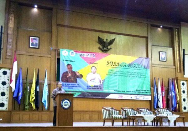 Enliven Milad, MP FITK UIN Jakarta Holds Studium Generale