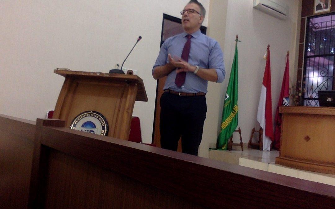 Alpaslan Ozerdem: Merajut Kedamaian Berbasis Keadilan