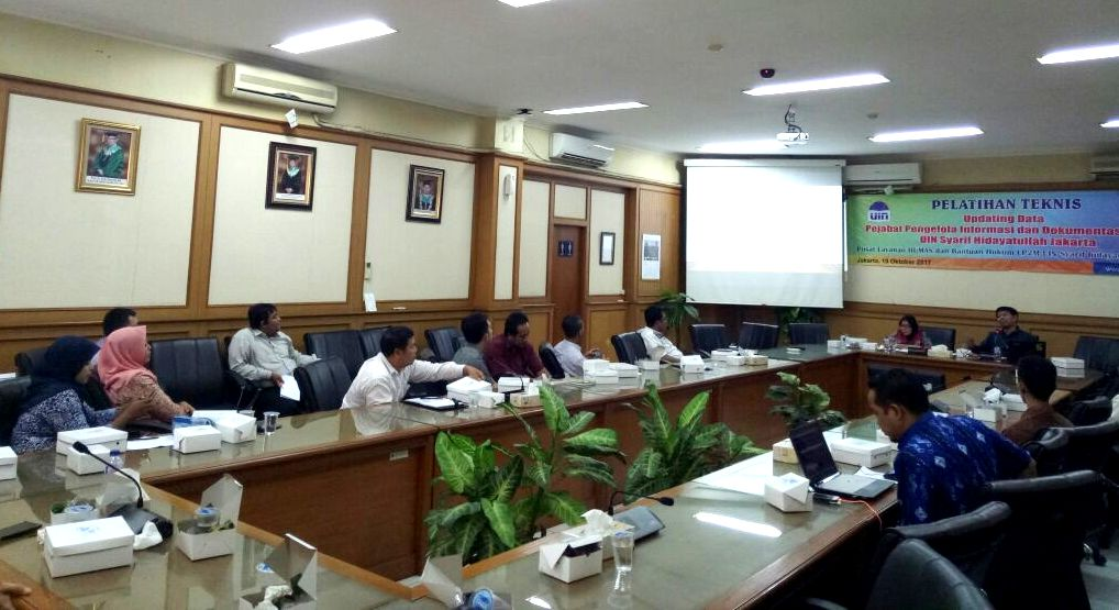 PLHBH Gelar Pelatihan Teknis Updating Data PPID