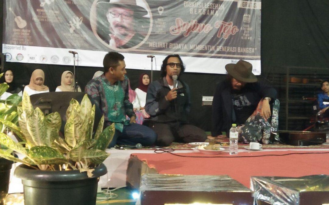 Sujiwo Tejo Sampaikan Orasi di Festival Budaya KPI