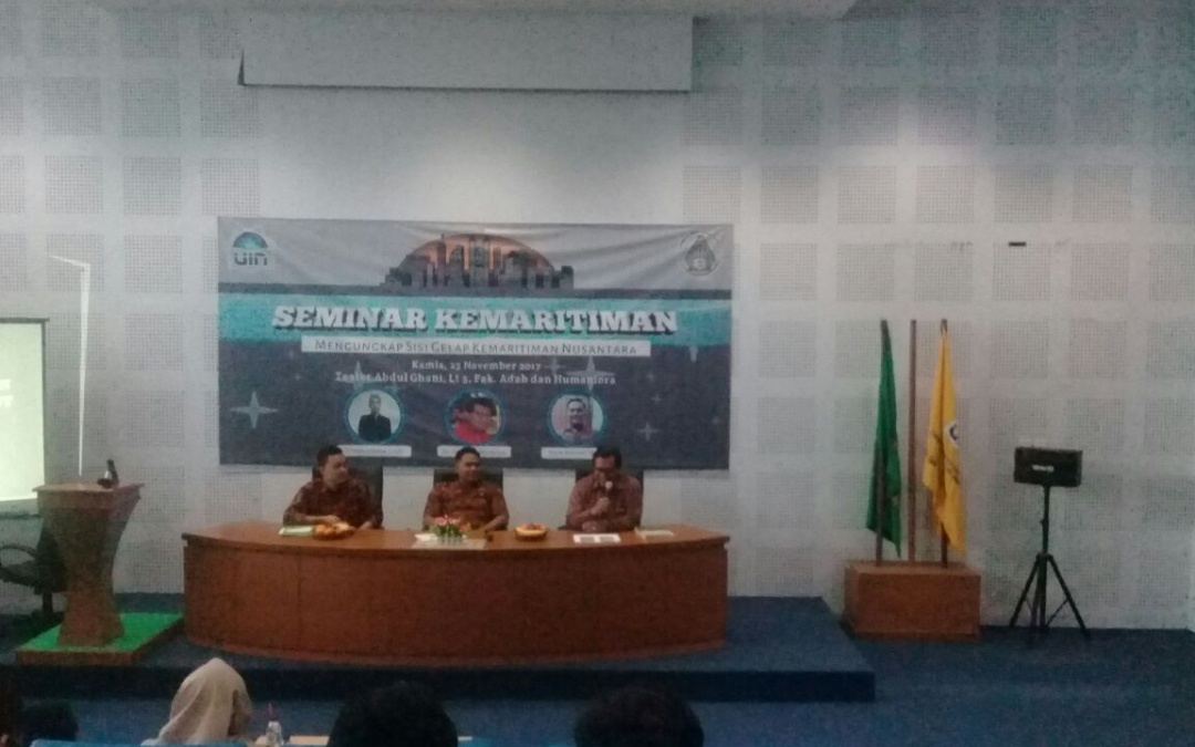 HMJ SPI UIN Jakarta adakan Seminar Kemaritiman