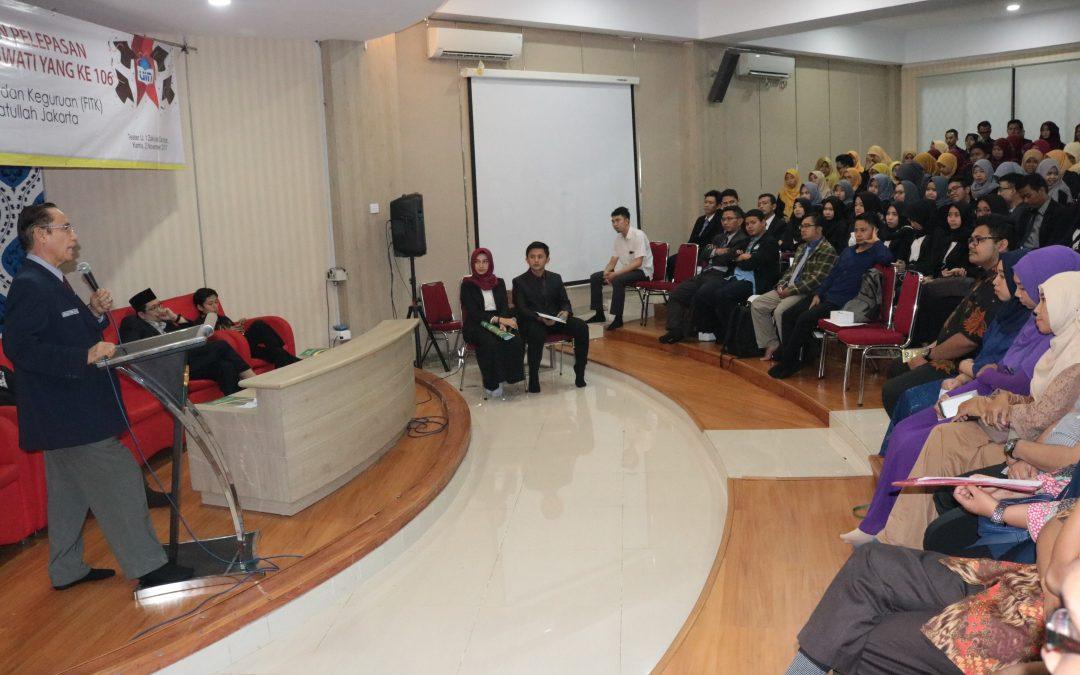 Lulusan FITK Terbanyak di Wisuda 106 UIN Jakarta