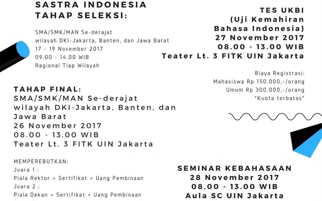 Tingkatkan Kualitas Bahasa Indonesia, HMJ PBSI Gelar Tes UKBI