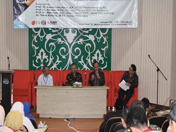 National Seminar: Waking up at Night is a Condition to Become a Professional Teacher