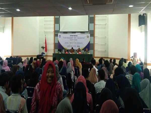 FAH UIN Jakarta held National Seminar