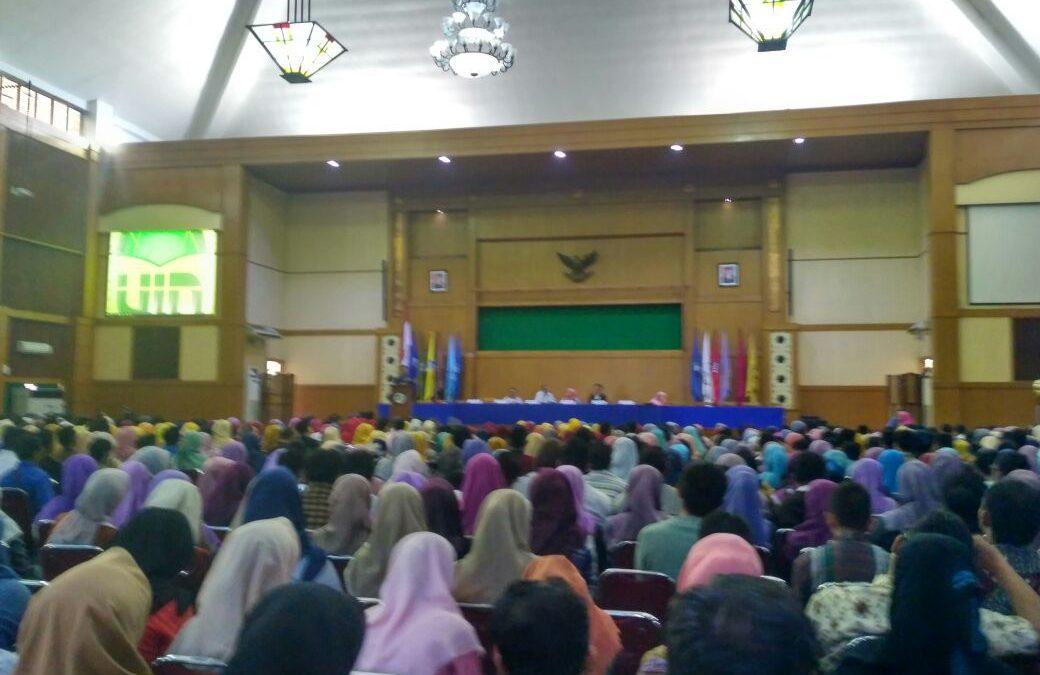Hari ini, Gladi Resik Wisuda Ke-106 UIN Jakarta Digelar